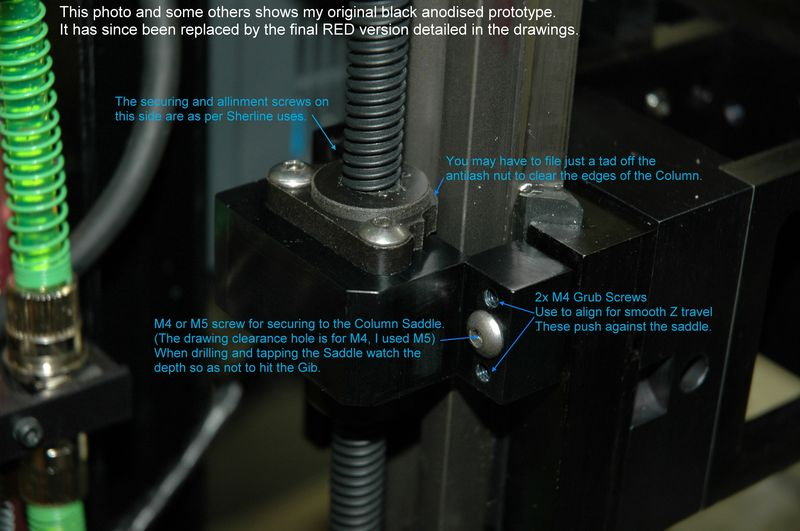 24 A2Z Z Axis Screw Mod (With Comments)