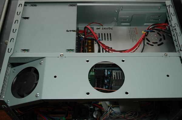 Computer with Stepper Motor Controller Power Supply