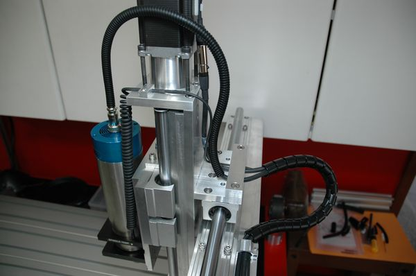 Spindle Motor & Z Axis Cabling