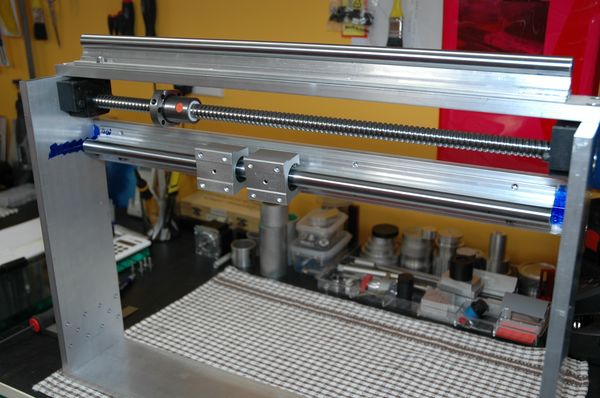 X Axis Gantry Machining & Assembly_23