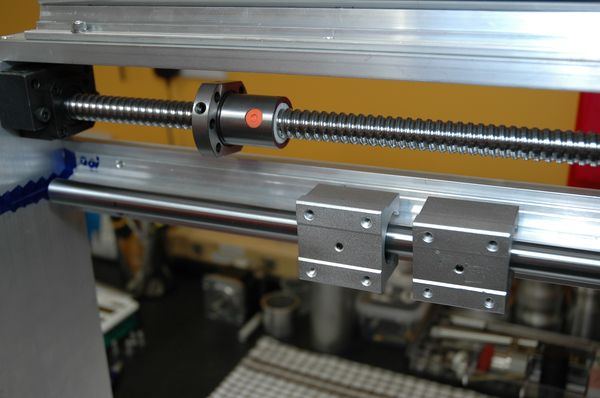 X Axis Gantry Machining & Assembly_24